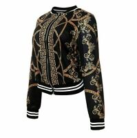 New Top Quality Versace Medusa Design Luxury Women Long Sleeve Jacket