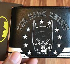 Batman The Dark Knight Men's Bifold Wallet DC Comics