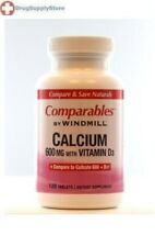 Windmill ,Calcium 600mg with Vitamin D3 -120 counts, support for healthy bones