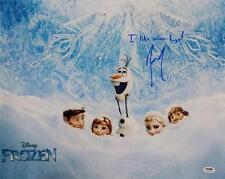 Josh Gad Olaf Signed I Like Warm Hugs Disney Frozen 16x20 Photo PSA Pic Proof A