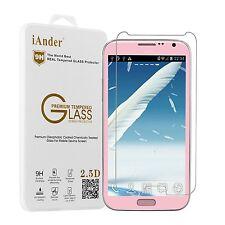 iAnder Samsung Galaxy Note 2 Premium Tempered Glass Screen Protector