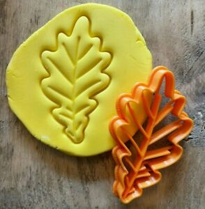 Oak leaf cookie/ biscuit cutter, autumn, nature, fall, plant, decorating, baking