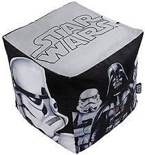 Star Wars Bean Cube Bean Bag Filled Chair Seat Bedroom Play TV Room