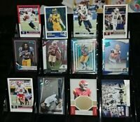 Rams 12 card lot RC Prizm Optic #d Cam Akers Darrell Henderson Cooper Kupp