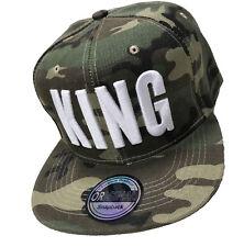 Military Snapback Cappy Cap Kappe Mütze Soldat Basecap Militär King Camoflage