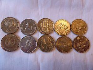Australian 20 cent commemorative coin collection 1995 to 2016 circ coins set