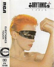 Eurythmics Touch CASSETTE ALBUM RCA PK 70109 Electronic Pop Synth-pop