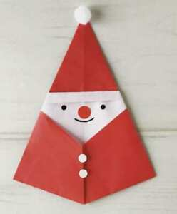 Santa Claus paper handmade decor