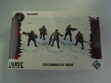 DUST TACTICS SSU COMMISSAR SQUAD NEW FANTASY FLIGHT HC639