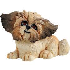 More details for arora little paws gizmo shih tzu dog figurine / ornament | dog lover gift