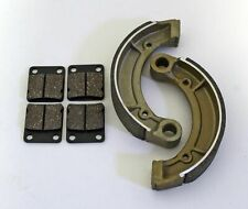 EBC Grooved Rear Brake Shoe 2003-2004 Yamaha YFM400F Kodiak 4x4 # 532G