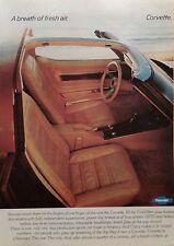 1978 CORVETTE STINGRAY T-TOP-AD/PICTURE/PRINT 74 75 76 77 79 80 VETTE 350 C2 C3