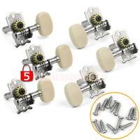 Set 6 Chiave Meccanica Metallo Plastica per Chitarra Acustica Classica