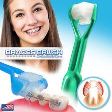 DenTrust 3-Sided Braces Brush | Clinically Proven Better for Orthodontic's | USA