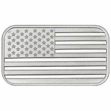 Lot of 20 - 1 Troy oz American Flag .999 Fine Silver Bar Sealed