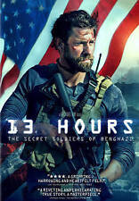 13 Hours: The Secret Soldiers Of Benghazi DVD FREE FIRST CLASS SHIPPING !!!!!