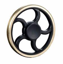 Wheel Design Metal Fidget Spinner Hand Finger Spinning Focus Toy Stress Relief