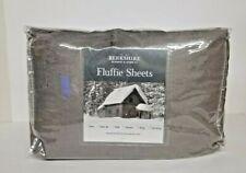 Berkshire Blanket Fluffie Sheet Set-King-Grey--NIP