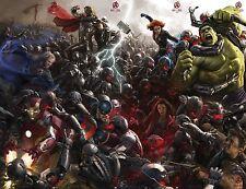 Avengers 2 Age of Ultron Movie Poster (24x36) - Comic Con, Iron Man, Black Widow