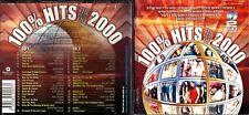 100% Hits,The Best Of 2000 2cd set (39 tracks)- Whitlams,Taxiride,Cher,Vengaboys