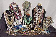 Vintage Costume Fashion Rhinestone Jewelry Lot 1928 Juicy Couture Monet Trifari