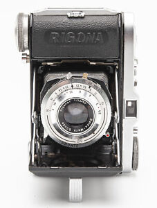 Balda Rigona Klappkamera Rollfilmkamera Kamera - Rigonar 3.5 50mm Optik