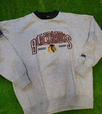 Vintage Lee Sports Chicago Blackhawks Crewneck Sz Large