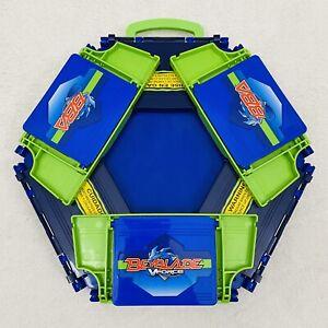 Beyblade Mobile Beystadium VForce Travel Stadium BBA Arena Case 2003 Hasbro