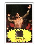 WWE Randy Orton 2012 Topps Heritage Authentic Event Worn Shirt Relic Card Multi