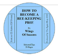 "Book on CD ""How to Become a Bee-Keeping Pro!"""