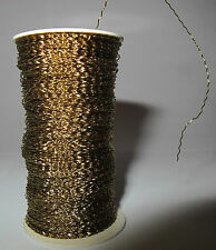 Floral Spool Wire Craft Jewelry French Wire (Bullion Wire) – Gold - New