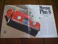 1999 MORGAN PLUS 8 ***ORIGINAL ARTICLE / ROAD TEST***