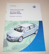 VW Passat B6 Typ 3C - Elektrische Anlage - SSP 340 -  Stand 2005!