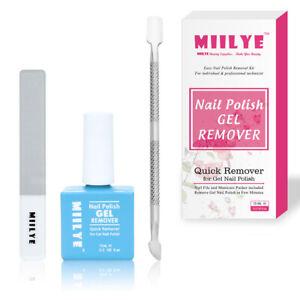 Magic Nail Polish Remover for UV Gel Acrylic Dip Powder Nails Soak off Removal