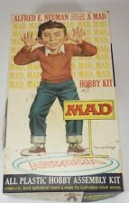 Aurora Alfred E. Neuman Mad Hobby Assembly Kit Box Only, 1965