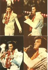 Elvis Presley : 1973 Aloha from Hawaii NBC-TV Special Photo Set of 10 w/FREE CD