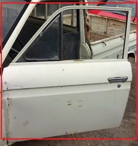 FITS DATSUN NISSAN 520 521 PICKUP MODEL 1965 72 REPAIRED BARE LEFT DOOR USED