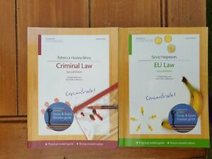 Criminal Law Concentrate: Law Revision and Study Guide by Rebecca...