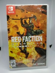 Red Faction Guerrilla Re-Mars-Tered_ Switch (Nintendo Switch) BRAND NEW !!!