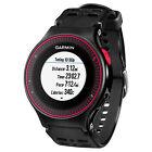 Garmin Forerunner 225 Running Sports Watch GPS Wrist HRM Heart Rate Black/Red