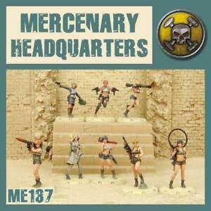 Dust Tactics 1947: Mercenary HQ  PRIMED EDITION  Tabletop