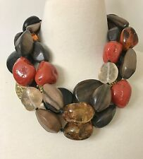 Gerda Lynggaard - Monies Style Exquisite Dramatic Multi Strand Necklace