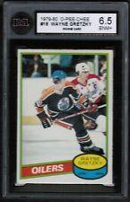 1980 81 OPC O pee chee #250 Wayne Gretzky KSA 6.5 2nd years Edmonton Oilers