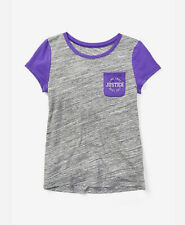 Justice Girl's Size 10 Colorblock Pocket Tee New with Tags