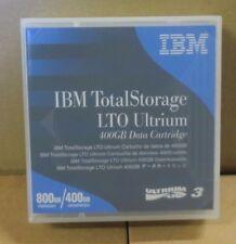 IBM TotalStorage LTO3 LTO Ultrium 3 Data Cartridge 400GB Native/800GB Compressed