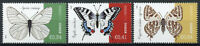 Cyprus Butterflies Stamps 2020 MNH Old World Swallowtail Butterfly Fauna 3v Set
