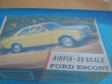 Airfix Ford Escort Model Kit  1/32 SCALE