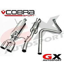 FD61 Cobra Sport Ford Fiesta Mk7 1.2 1.4 1.6 (08-14) Cat Back Exhaust (Non Flex)