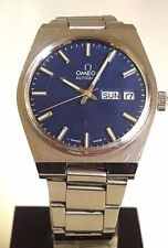 VERY RARE OMEGA AUTOMATIC C 1022 VINTAGE 1972 SWISS WATCH, WR, DATE-DAY, ST-ST