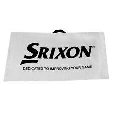 "Srixon Tourney Golf Bag Towel. ""Dedicated To Improve Your Game"""